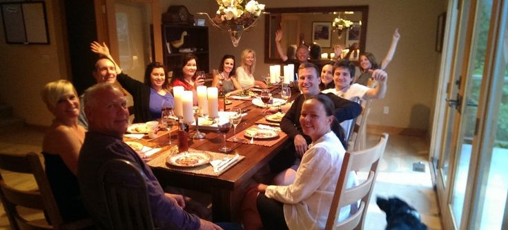The RTOWN team enjoying dinner after a great day in Kamloops!