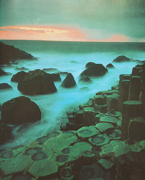 /\: Giant Causeway Ireland, Fog Mists, Adventure, Dreamy, Dreams, Beautiful Places, Northern Ireland, Landscape, County Antrim