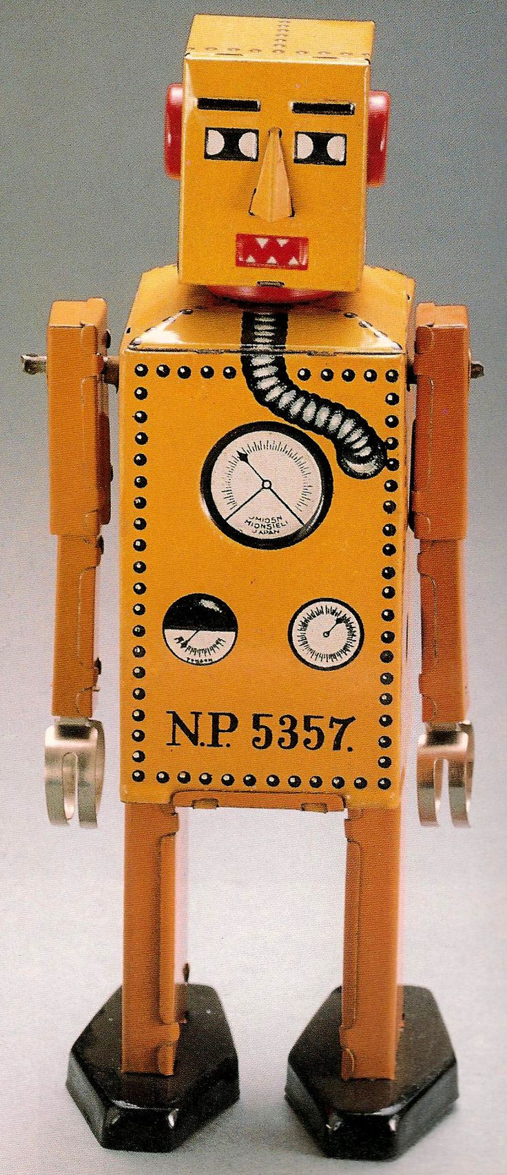 Lilliput was the first tin toy robot made in Japan