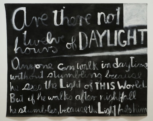 Colin McCahon - Are there not twelve hours of daylight. 1970