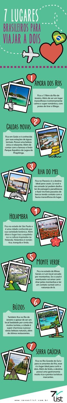 07 DICAS DE VIAGENS PARA CASAIS NO BRASIL