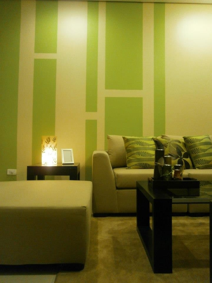 Green Interiors For A One Bedroom Condo Unit