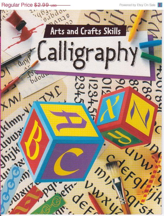 Calligraphy for beginners book by Fiona Campbell basic techniques plu ...