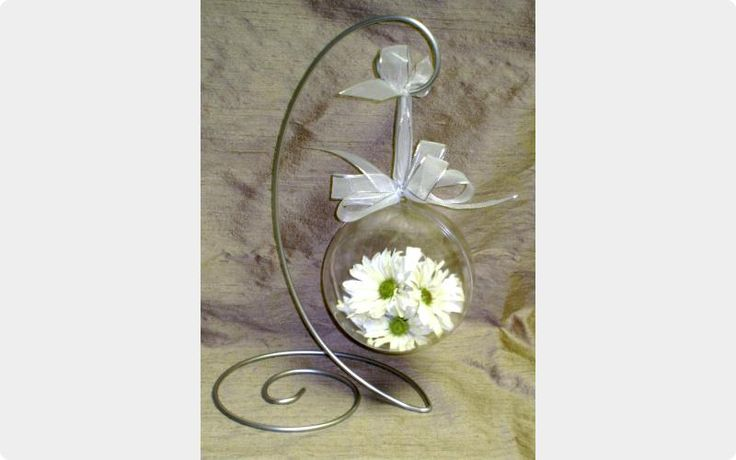 Freeze dried flowers from boquet - Small ornament $54