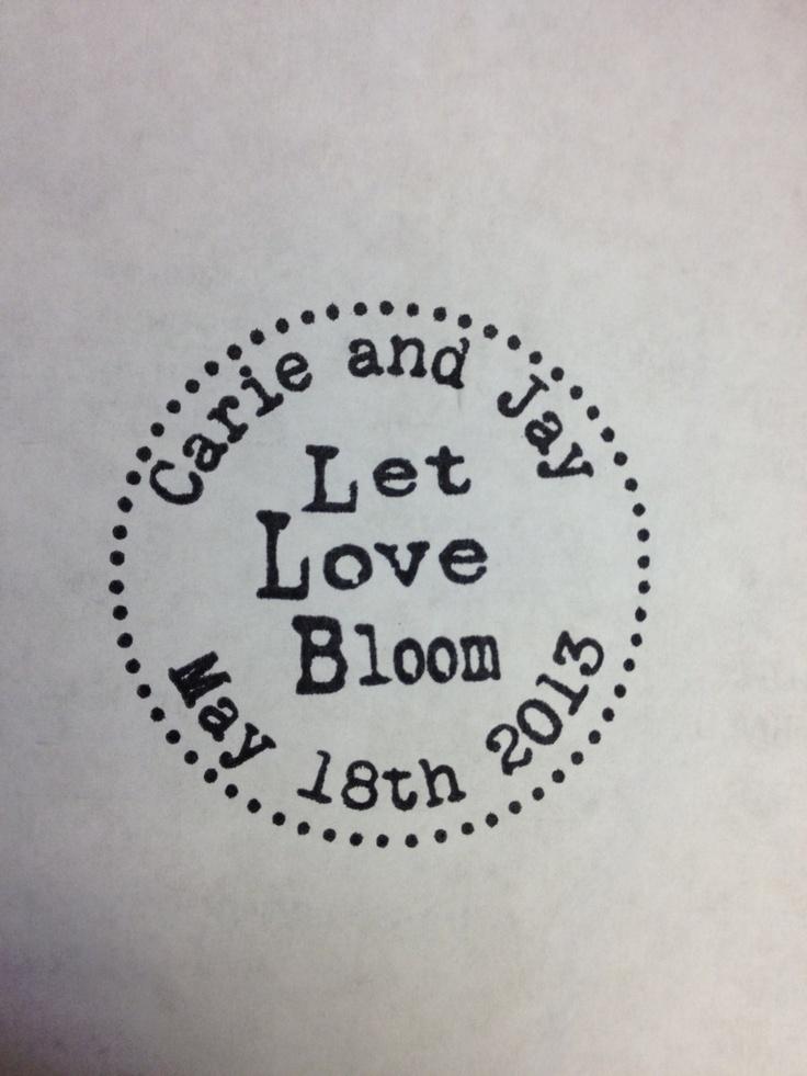 #stamp #wedding