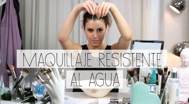 Maquillaje resistente al agua
