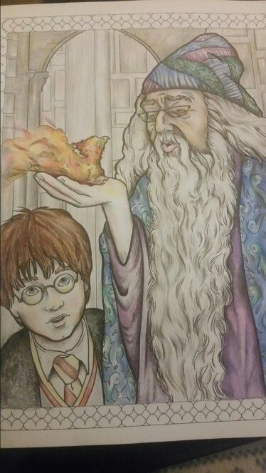 19 best Harry Potter Colouring