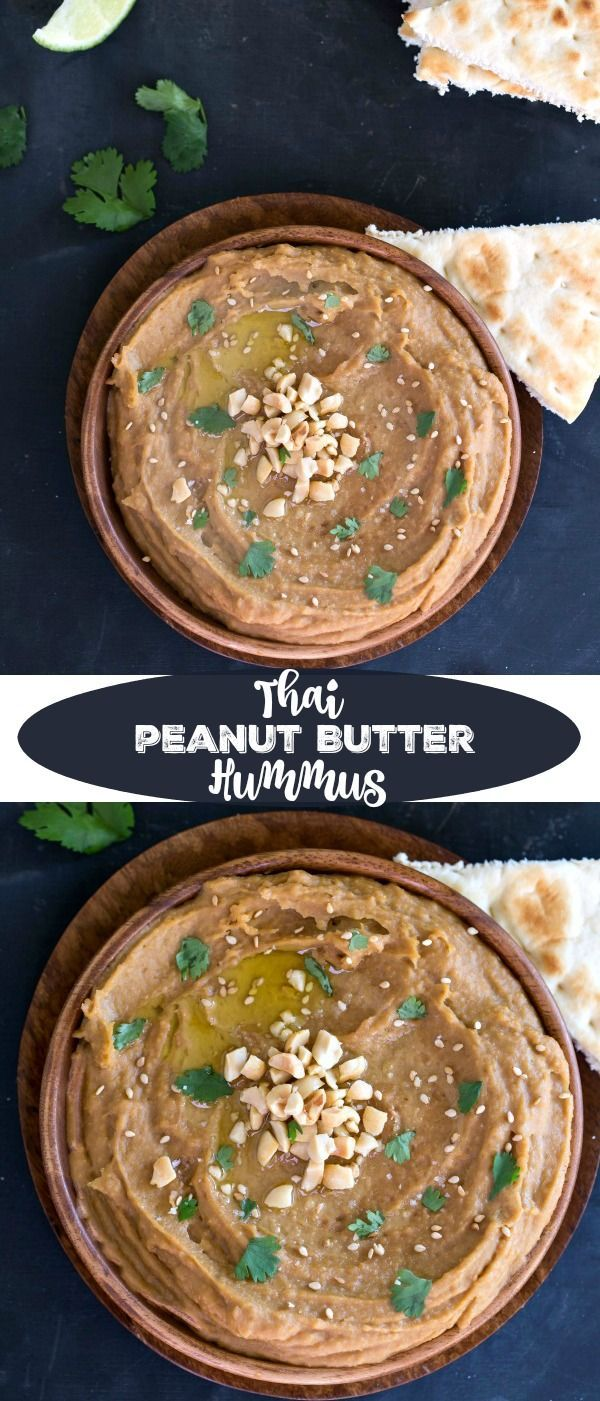 67 best thai food recipes images on pinterest thai recipes asian enjoy peanut sauce in a whole new way with this thai peanut butter hummus recipe its a healthy snack appetizer or light lunch forumfinder Choice Image