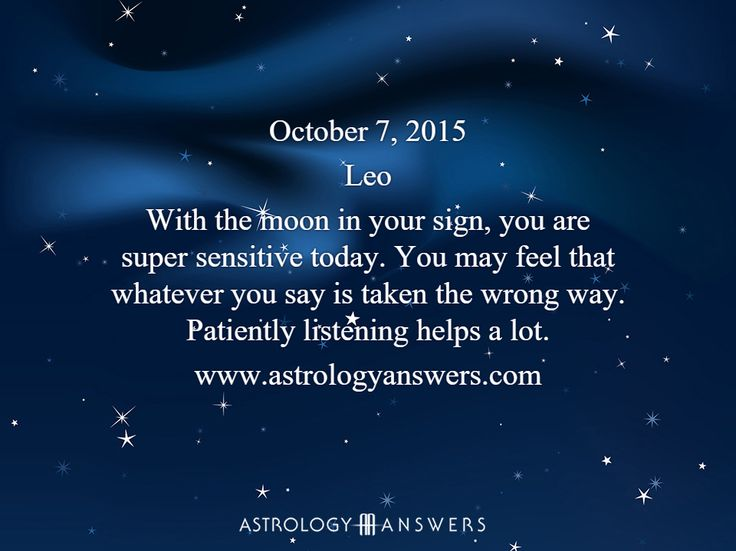 The Astrology Answers Daily Horoscope for Wednesday, October 7, 2015 #astrology