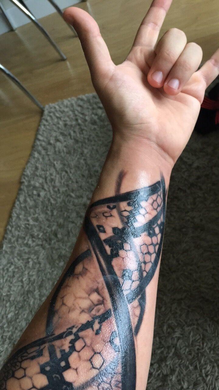Dna Tattoo Family Dna Tattoo In 2020 Dna Tattoo Hourglass Tattoo Family Tattoos