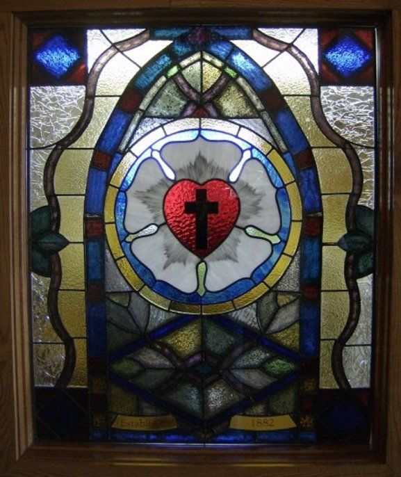 St. Luthers Rose Window
