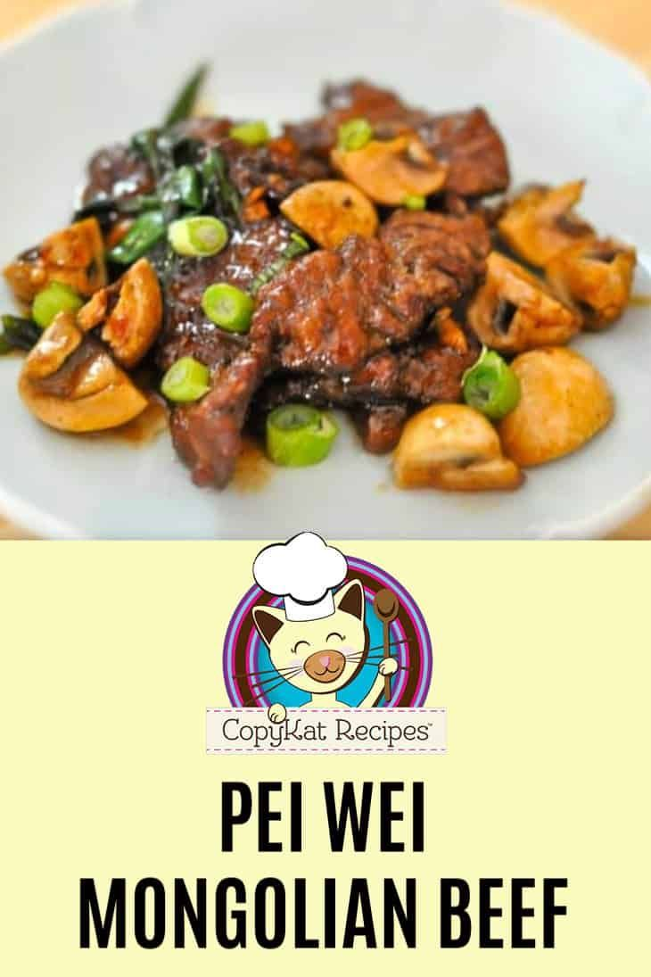 Pei Wei Mongolian Beef Recipe Copykat Recipes Beef Asian Recipes