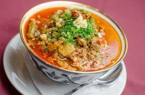Лагман- узбекский густой суп - простое в приготовление аппетитное блюдо. Ингредиенты: Говядина или б