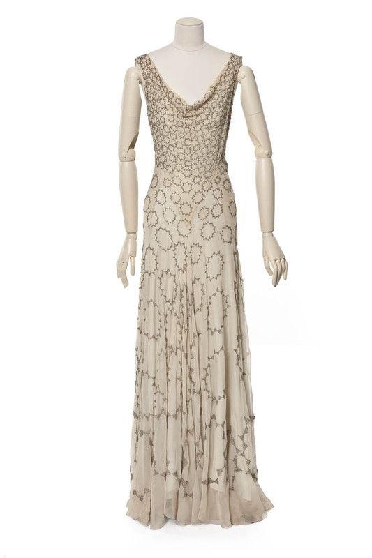 Création:  Madeleine Vionnet , maison de couture, 1931, collection hiver (haute couture) Madeleine Vionnet , couturier, Paris,