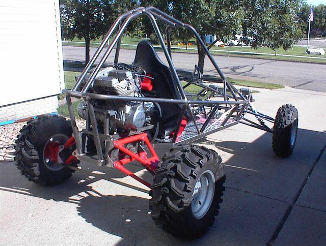 plans Go road cart - adult off