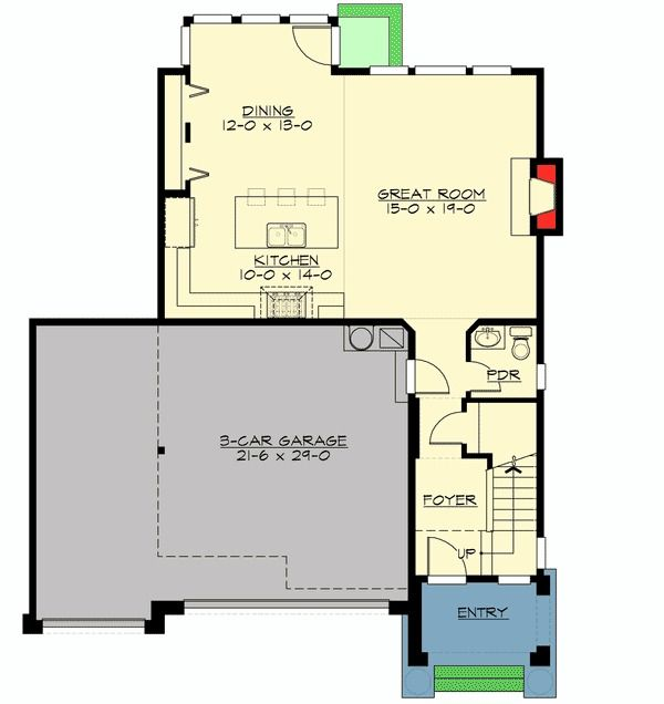 Garage House Plans With Apartments Contemporary Garage W Apartments Modern House Plans Home