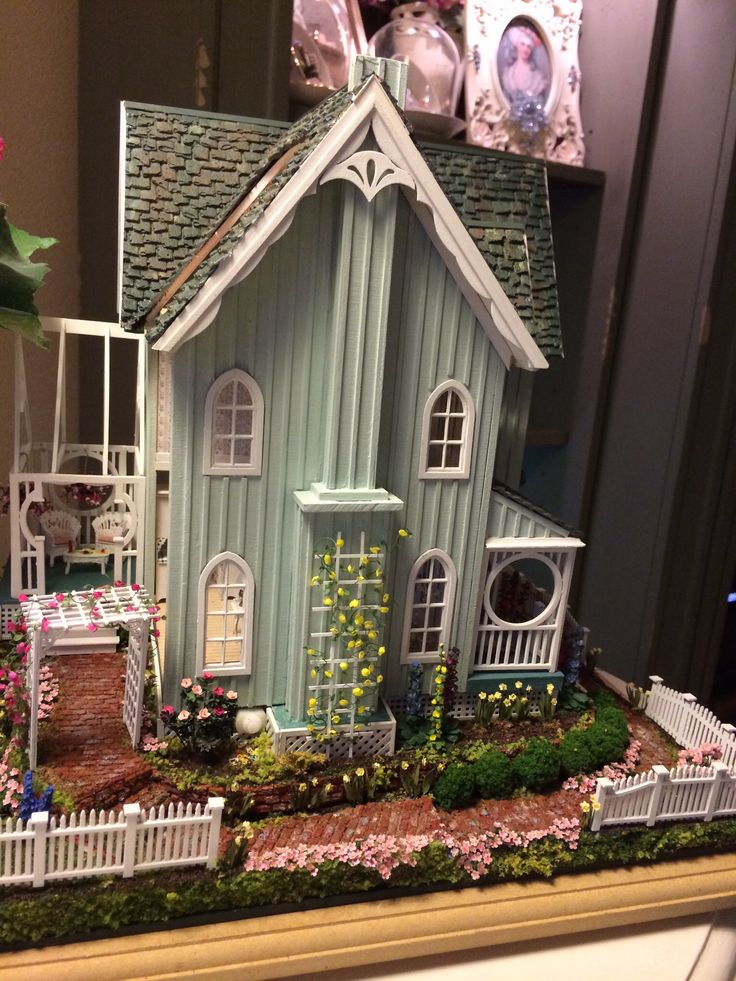507 Best Images About Miniature Cottages Amp Fairy Houses On