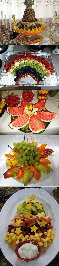 Идеи как красиво оформить фрукты. Обсуждение на LiveInternet - Российский Сервис Онлайн-Дневников