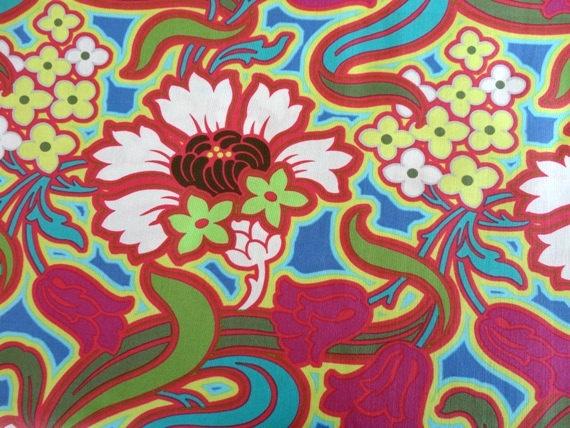 Amy Butler Fabric  1 METRE Soul Blossom Disco by FreshFabricsAust, $15.50