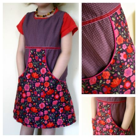 pocket dress ~ French instructions