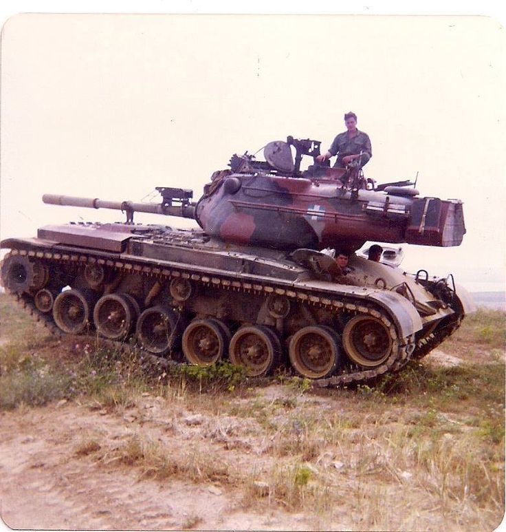Hellenic Army M47 Patton Lemnos Island, 1980's.