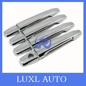 ABS chromed front car door operating handle cover 4pcs car accessories for Mitsubishi outlander 2011 2012 2013 AR car-styling