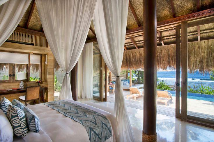 Marangga Wave Front Villas | 4 x 1 bedroom | Sumba, Indonesia #interior #bedroom #interiordesign #luxury #sumba #beach #villa