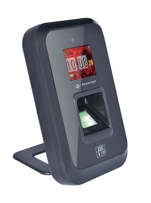 Secureye Stand-alone Biometric Machine, S-B35, loaded with multiple biometric features,doesn't require any installation or additional software. Just connect it with power and it starts operating. S-B35 has an 1.8-inch colored Display Screen. World's top-quality and rugged 600 DPI optical sensors, with a 360-degree Auto Adapt Technology, Respond to oily, wet or even scratched fingers and that too in less than one second.