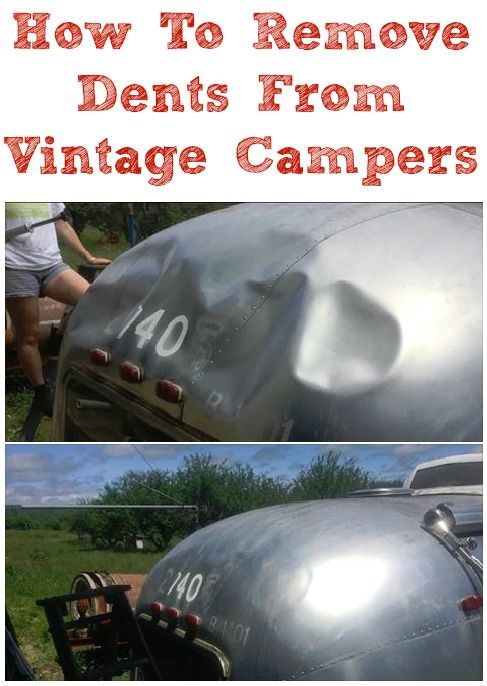 A lot of vintage trailers will have beauty marks and/or dents due to age, elements, tree branches falling on them or backing into things. The challenge is how to fix them? 1. You could replace the …