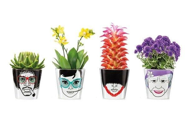 Vasi porta-fiori - Personaggi famosi | Arredamento per la casa