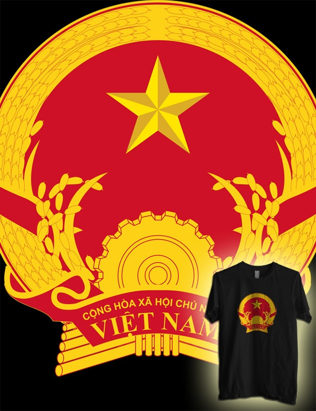 Vietnam coat of arms