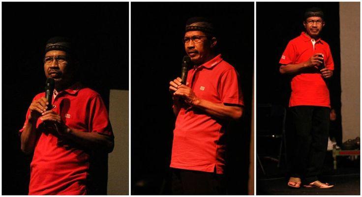 "Sedikit kisah tentang Sosok almarhum Pak Aryo oleh adik beliau Bapak Ageng FASBuK Bulan Februari 2017 Merenda Untaian Karya Mengenang ""Aryo Gunawan"" FASBuK Asik... . . . #fasbuk #indonesiakaya #seputarkudus #sangswara #teaterkuncupmekar #instagram #sastra #musiksastra #aryogunawan #teaterstudioone"