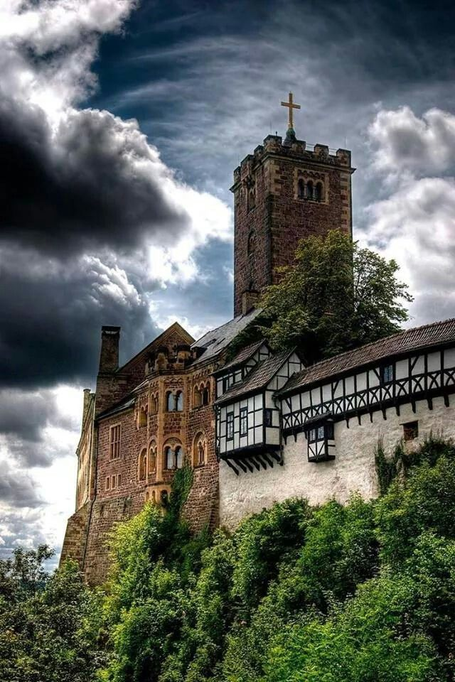 Wartburg, Eisenach, Duitsland