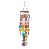 Found it at Wayfair - Urban Trends Capiz Wind Chime