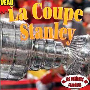 """3199700095547 """"La Coupe Stanley"""" Collection à visée didactique dont chaque titre explore brièvement l'histoire, la raison d'être et le rôle d'un symbole de l'identité canadienne. Une suggestion de bricolage, un glossaire ainsi qu'une liste de sites Internet à visiter se greffent aux textes qui présentent ici la coupe Stanley, ses origines, son créateur et le rôle qu'elle joue dans les festivités pour l'équipe qui remporte les séries éliminatoires de la Ligue nationale de hockey. [SDM]"""