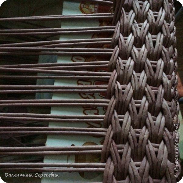 Игрушка Поделка изделие Вязание крючком Плетение Мои коробочки и не только Пряжа Трубочки бумажные фото 10