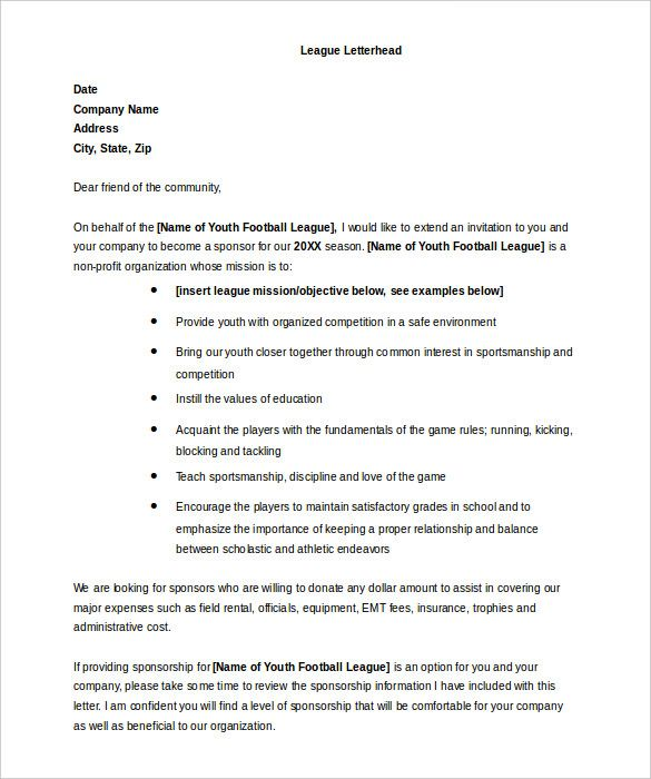 Free 34 Donation Letter Templates In Pdf