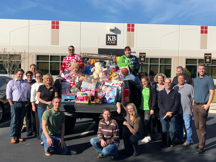 Our Tampa/ Southwest Florida team members may may not have had a sleigh but they did have a truck! The team partnered with Toys For Tots to play Santa so that some very worthy kids in Hillsborough County could have a Merry Christmas! #KBCares