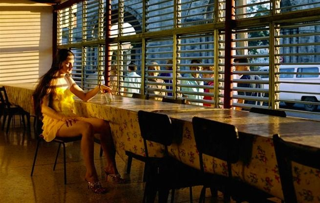 One of the greatest photographers of our time Philip Lorca diCorcia creates images of reality.