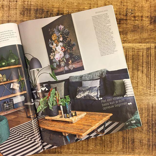 Via Cannella gespot in de nieuwe VTWonen! Binnenkijken bij @_finntage met een aantal producten uit onze winkel zoals de kussens. #viacannellacuijk #viacannella #vtwonen #interieur #kussenhoes #tijdschrift #interiorstyling #interieurwinkel #woonwinkel #interior #woonaccessoires #meubels