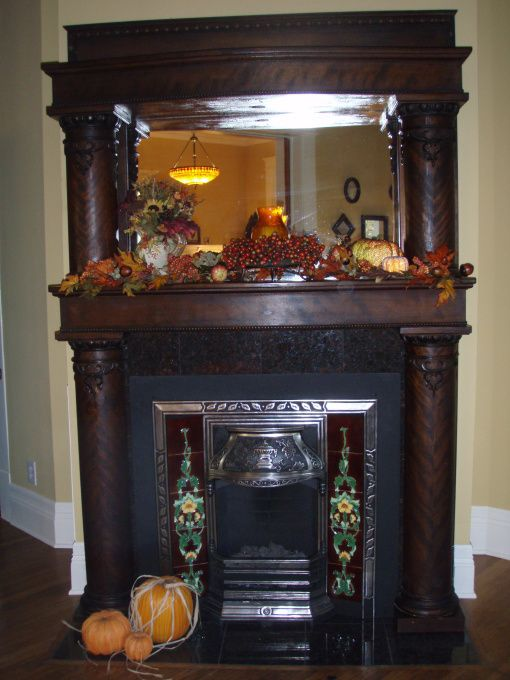 78 images about victorian mantel ideas on pinterest for Dining room fireplace ideas