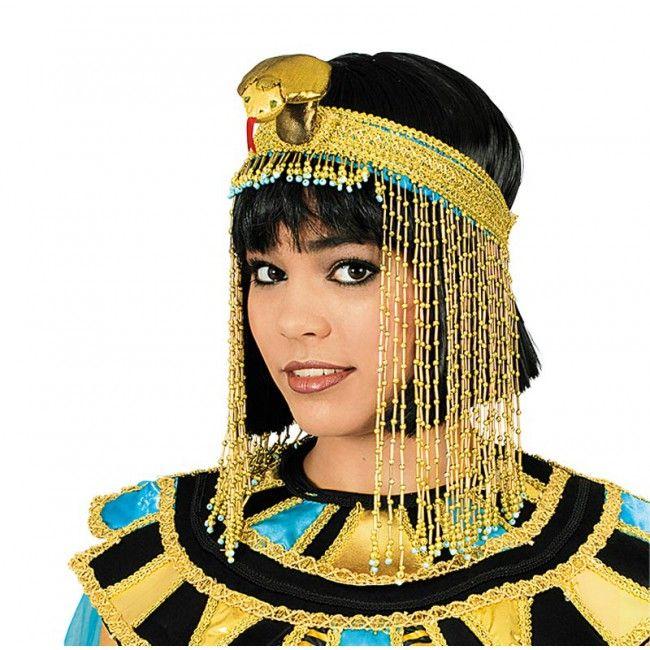 Auffallender Kopfschmuck für Cleopatra und Verkleidungen altes Ägypten.