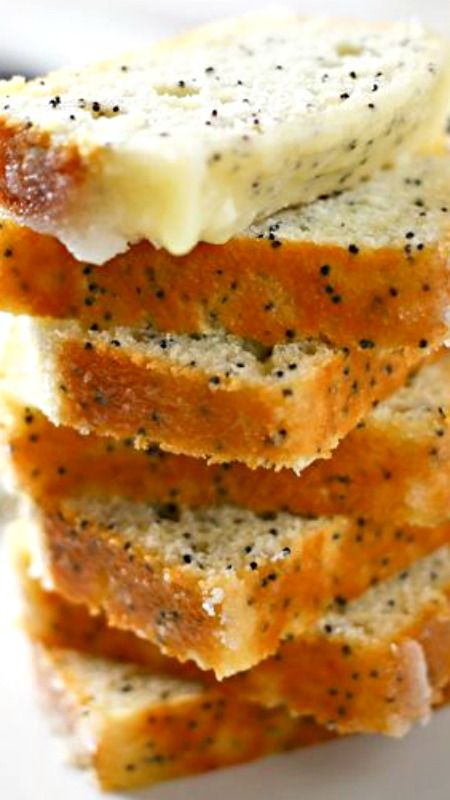 Lemon Poppy Seed Mini Loaf Cakes Recipe