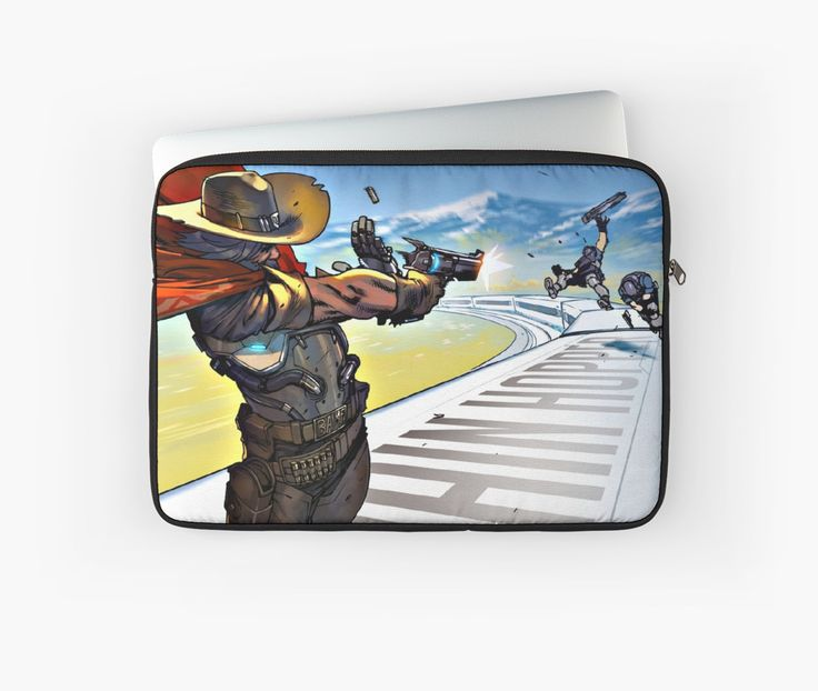 Overwatch | McCree - Laptop sleeve by gamevault