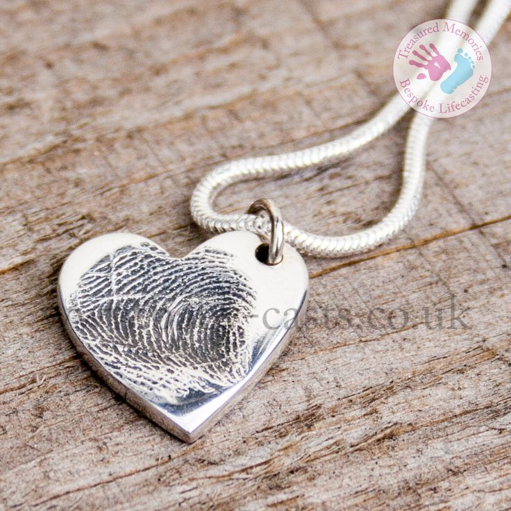 Sterling Silver fingerprint pendant. #treasuredmemories #crewe #cheshire #handmade #madewithlove #sterlingsilver #memorial #inlovingmemory #foreverwithme #keepsake #special #personalised #heart #charm #necklace #unique #silver #jewellery