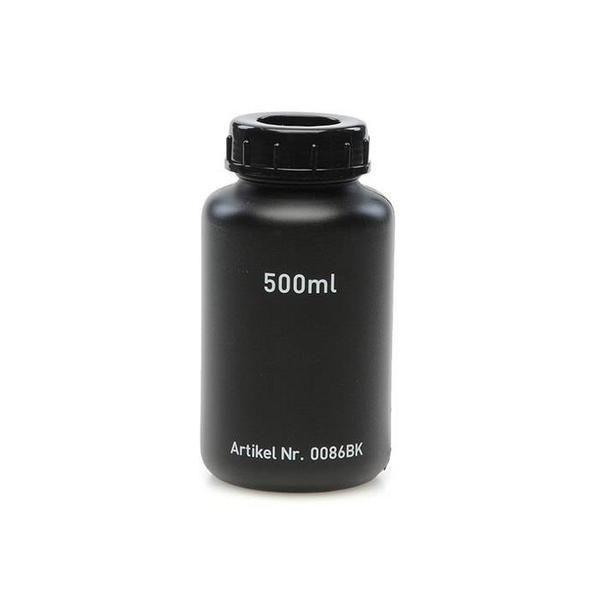 黒色広口瓶 500ml