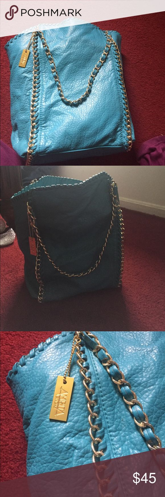 Amrita Singh chain bag Amrita Singh chain bag- great condition. Pen mark inside. Amrita Singh Bags Shoulder Bags