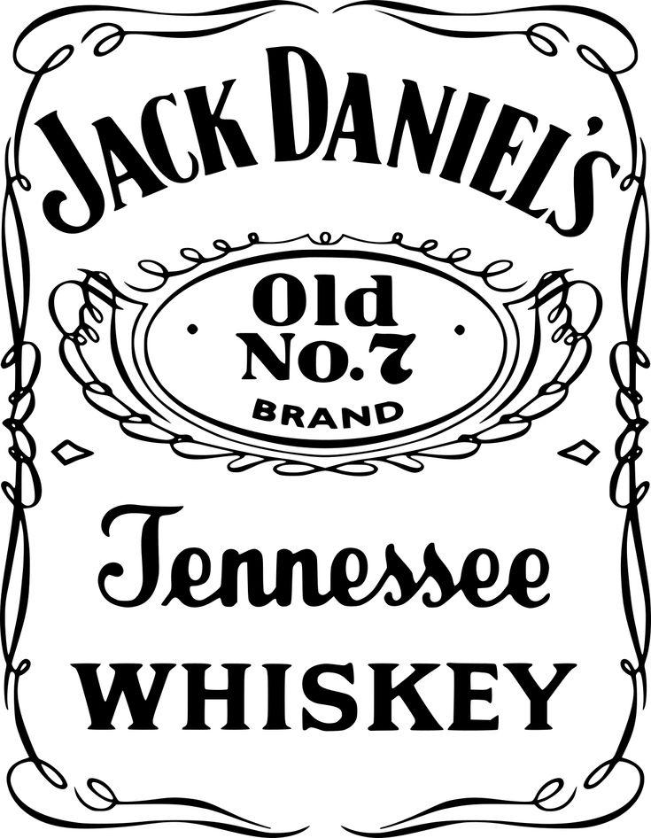 SVGS for Geeks! | Jack daniels logo, Jack daniels label ...