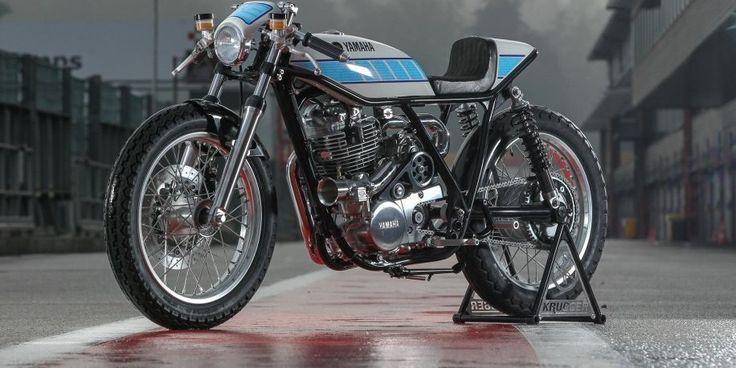 YAMAHA SR400 YARD BUILT PAR KRUGGER MOTORCYCLES