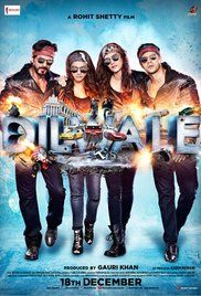 Dilwale is a 2015 Indian romantic action comedy film directed by Rohit Shetty, and produced by Gauri Khan and Rohit Shetty.The film stars Shah Rukh Khan, Kajol, Varun Dhawan, and Kriti Sanon in lead roles, with Johnny Lever and Varun Sharma in supporting roles